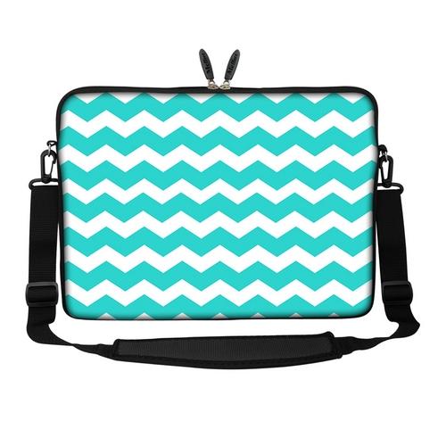 15 6 laptop computer sleeve case bag w handle shoulder strap asus acer 3094 ebay. Black Bedroom Furniture Sets. Home Design Ideas